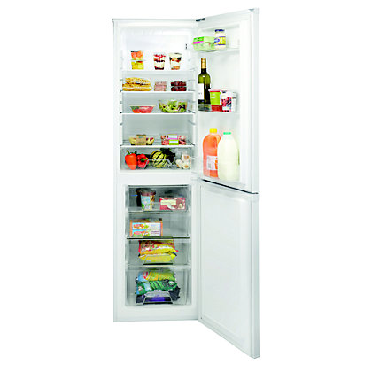Image for Indesit DAA 55 NF .1 Fridge Freezer - White from StoreName