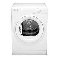 Hotpoint TVFM70BGP Vented Tumble Dryer- White