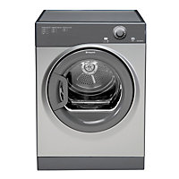 Hotpoint TVFM70BGG Vented Tumble Dryer- Graphite