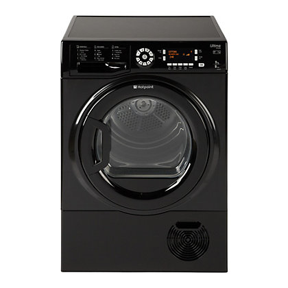 Image for Hotpoint SUTCD 97B 6KM UK Condenser Dryer - Black from StoreName