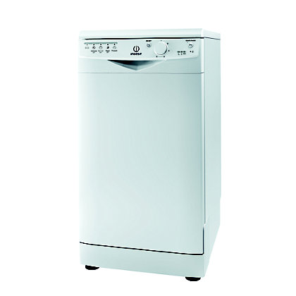 Image for Indesit Ecotime DSR 15B Freestanding Slimline Dishwasher - White from StoreName