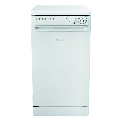 Image for Hotpoint Aquarius SIAL 11010 P Slimline Dishwasher - White from StoreName