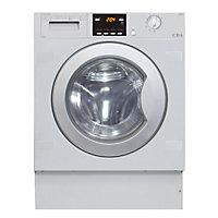 CDA ci325in Integrated Washing Machine - White