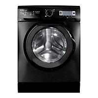 CDA ci261bl Freestanding Washing Machine - Black