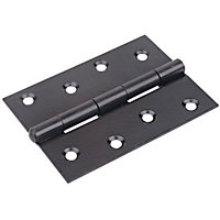 Iron Hinges - Black - 3 Pack