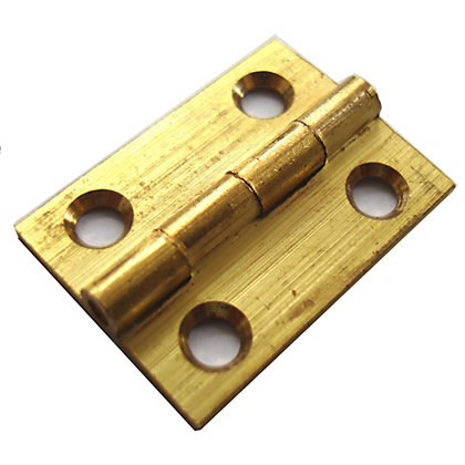 Image for Butt Hinge Drawn Brass - 38mm from StoreName