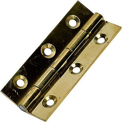 Image for Butt Hinge Drawn Brass - 63mm from StoreName