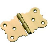 Seat Hinge Electro Brass - 38mm - Pack of 2