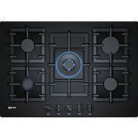 Neff T27CS59S0 Gas Hob - 75cm - Black