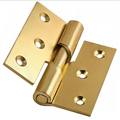 Image for Rising Butt Hinge Electro Brass - 75mm from StoreName