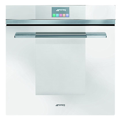 Image for Smeg SFP140B Single Pyrolytic Multifunction Oven from StoreName
