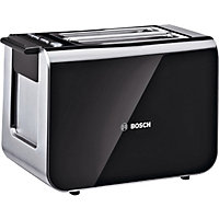 Bosch TAT86104GB 2 Slice Styline Toaster - Black
