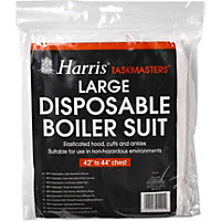 Harris Taskmasters Disposable Suit Large
