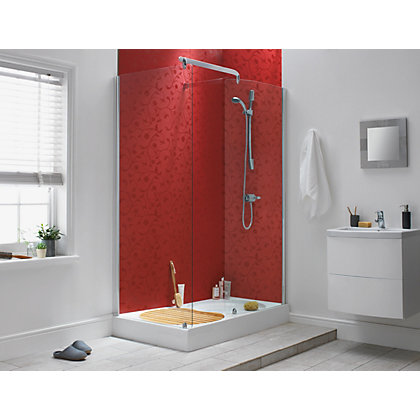 Image for Stormwall Florence Red Single Panel 242 x 58.5 x 1.1cm - from StoreName