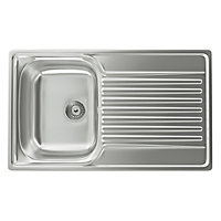 Carron Phoenix Contessa 100 Kitchen Sink - 1 Bowl