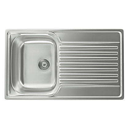 Image for Carron Phoenix Contessa 100 Kitchen Sink - 1 Bowl from StoreName