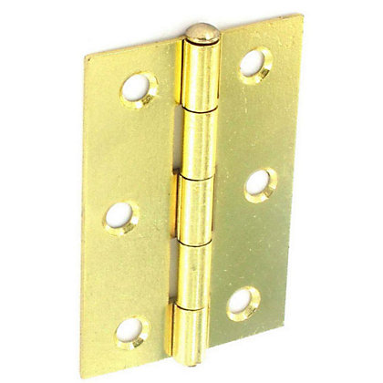 Image for Loose Pin Hinge Electro Brass - 100mm - Pack of 2 from StoreName