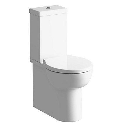 Image for Vitale Flow Close Coupled Toilet and Soft Close Seat from StoreName
