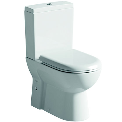 Image for Vitale Spring Mini Close Coupled Short Projection Toilet from StoreName