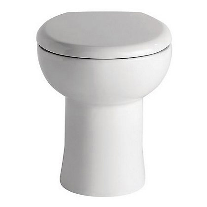 Image for Vitale Spring Mini Back To Wall Toilet and Soft Close Seat from StoreName
