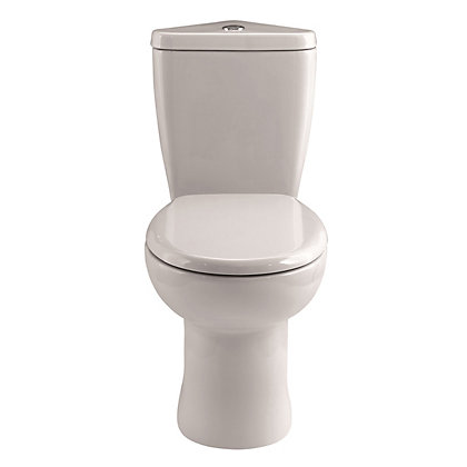 Image for Vitale Spring Mini Close Coupled Corner Toilet and Soft Close Seat from StoreName