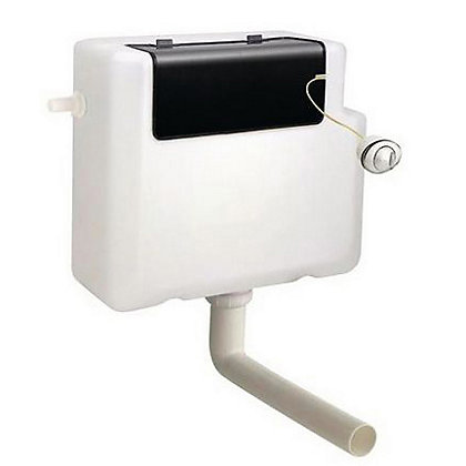 Image for Vitale Dual Flush Concealed Cistern with Push Button from StoreName