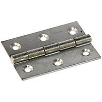 Butt Hinge Zinc Plated - 63mm