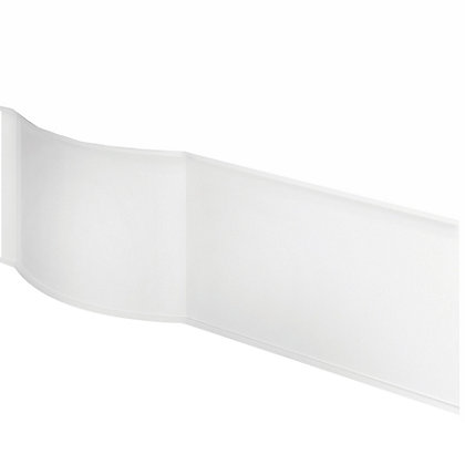 Image for Vitale P Shaped Front Bath Panel in White Gloss - Left Hand - 1675mm from StoreName