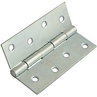 Butt Hinges - Bright Zinc Plated - 2 Pieces - 75mm