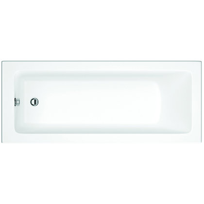 Image for Vitale Supercast Contemporary Square Bath - 1700 x 750mm - 0 Tap Hole from StoreName