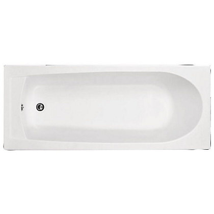 Image for Vitale Supercast Standard Oval Bath - 1700 x 700mm - 2 Tap Holes from StoreName