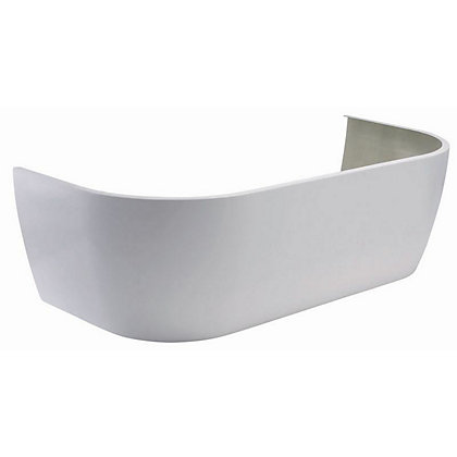 Image for Vitale D-Shape Luxury Twin-End Bath Panel - 1700mm from StoreName