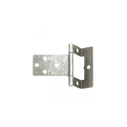 Image for Cranked Flush Hinge Zinc - 50mm - Pack of 2 from StoreName