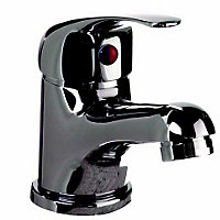 Vitale Lever Basic C/room Basin Mixer inc Waste