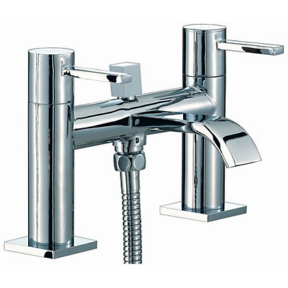 Image for Vitale Curve Bath Shower Mixer from StoreName