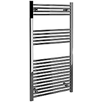 Vitale Towel Warmer with Straight Rails in 600 x 1200mm- Chrome