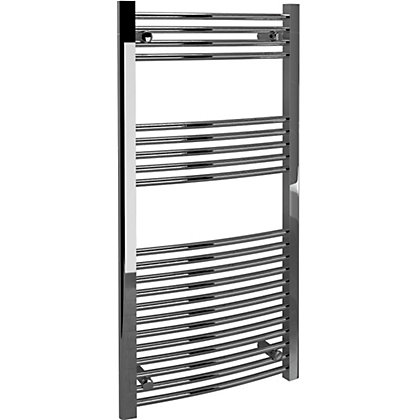 Image for Vitale Towel Warmer with Curved Rails 600 x 1200mm- Chrome from StoreName