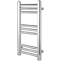 Vitale Space-Saver Towel Warmer 340 x 700mm- Chrome