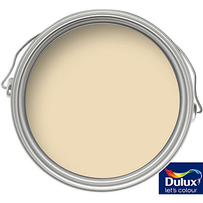Image for Dulux Buttermilk - Matt Emulsion Paint - 5L from StoreName