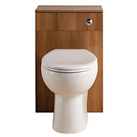 Vitale Bold WC Unit 500mm in Walnut
