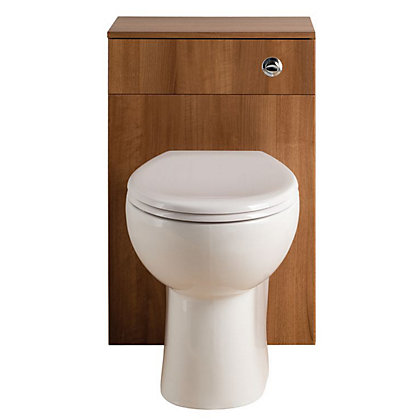 Image for Vitale Bold WC Unit 500mm in Walnut from StoreName