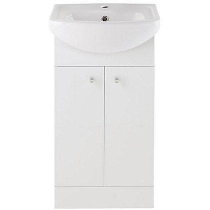 Image for Vitale Bold Vanity Unit 450mm in White Gloss from StoreName
