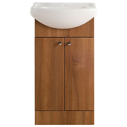 Image for Vitale Bold Vanity Unit 450mm in Walnut from StoreName