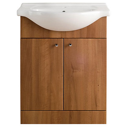 Image for Vitale Bold Vanity Unit 650mm in Walnut from StoreName