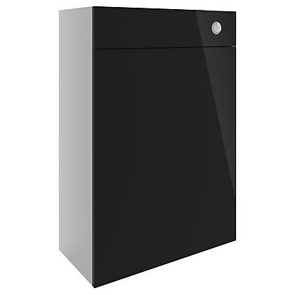 Image for Vitale Vibrant WC Unit 600mm in White/Black Gloss from StoreName