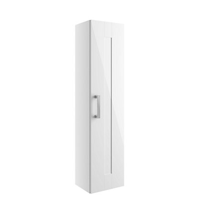 Image for Vitale Vibrant 1 Door Tall Unit 300mm in White Classic from StoreName