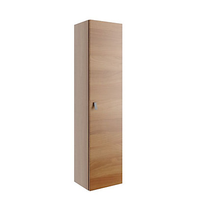 Image for Vitale Vibrant 1 Door Tall Unit 300mm in Walnut from StoreName
