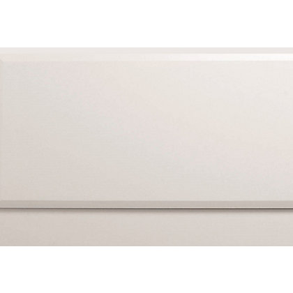 Image for Vitale Vibrant Contemporary End Bath Panel 750mm Gloss White from StoreName