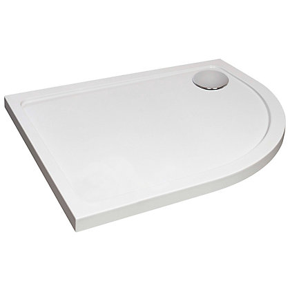 Image for Vitale Offset Quadrant Shower Tray 1200 x 800mm - RH with Waste from StoreName
