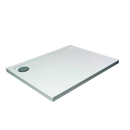 Image for Vitale Rectangular Shower Tray 1200 x 800mm - Fast Flow Waste from StoreName